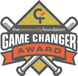 • May 2018- Community Foundation Gamechanger Award